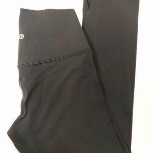 """Lululemon Align 23"""" black leggings"""